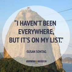 Let's go everywhere!