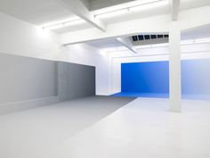 "Pieter Vermeersch: View of the exhibition ""Non Space The Image of absence"" in 2008 at CCNOA Brussels (Belgium)"