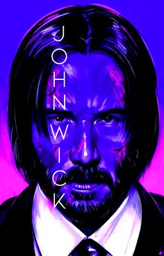 John Wick Movie, John Wick 1, Caricatures, Keanu Reeves Movies, Keanu Reeves John Wick, Comic Art, Comic Books, Shiva Wallpaper, Movie Characters