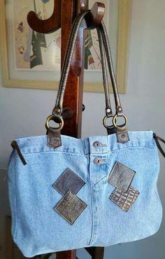 Artes e Retalhos - jeans reciclado
