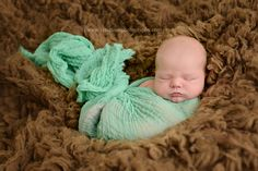 Ocean Blue Green Cheesecloth Baby Wrap Cheese Cloth | Beautiful Photo Props