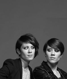 Tegan and Sara Quin. For two people so genetically similar it's hard to find two people so different. As songwriters they stayed separate, Tegan's fuck-you balls-out rock juxtaposed against Sara's more softly melodic tunes on heartbreak. Mixing Tegan's riffs with Sara's bridges started a band revolution... after seven studio albums. Heartthrob shocked pop music awake after years of tone-deaf Canadian bullshit.