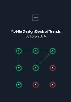 Free e-book: Mobile UI Design Trends 2015 & 2016 Web Design Trends, Ux Design, Book Design, Trends 2015 2016, Mobile Ui Design, Promotional Design, Interactive Design, Design Tutorials, Free