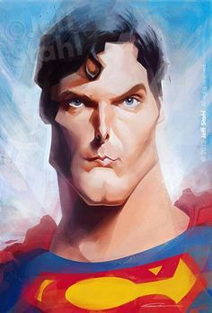 Superman... the one & only... Christopher Reeve