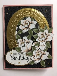 My Creative Corner!: Here's a Card, Heirloom Frames, Magnolia Lane Designer Series Paper, Birthday Card Stamping Up Cards, Rubber Stamping, Magnolia Stamps, Get Well Cards, Mothers Day Cards, Sympathy Cards, Flower Cards, Homemade Cards, Birthday Cards
