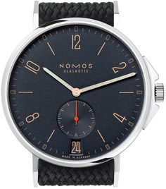 Nomos Glashutte Watch Ahoi Datum Atlantik Pre-Order 553 Watch available to buy online from with free UK delivery. Casual Watches, Cool Watches, Watches For Men, Simple Watches, Watch Master, Telling Time, Gold Hands, Latest Jewellery, Mechanical Watch