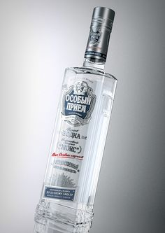 "Packshot vodka ""Special event"" for Grand.buro on Behance"