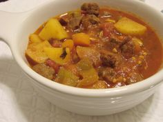 This is a wonderfully flavored stew from Extending the Table. One of my favorites to serve with Injera (see my other recipes) Add hot chili peppers or ground red pepper for a spicy stew.