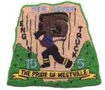 New Haven Fire Department Patch for Dixwell Fire Station Patch for Westville Station