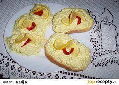 salát lze použít i jako pomazánku na chlebíčky