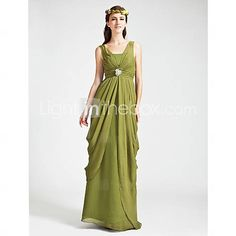 BOBBIE - Kleid für Brautjungfer aus Chiffon