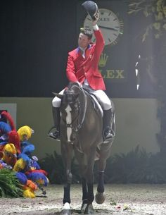 Favourite horse of all time officially retired today. MacLain Ward and the incomparable Sapphire