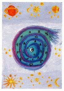 Tirage gratuit de l'oracle lumière : trois cartes. Triquetra, Wicca, Feng Shui, Positive Vibes, Meditation, Messages, Illustration, Medium, Intuition