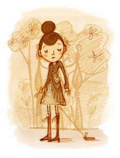 Abigail Halpin - чудесные рисунки