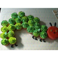 The hungry caterpillar.