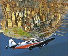 """Eine Biografie über einen obsessiven Städteplaner - mehr Bilderbogen als klassischer Comic: """"Robert Moses - der Mann, der New York erfand"""" von Pierre Christin und Olivier Balez."""