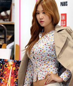 Post with 4064 views. Sistar Soyu, Sistar Kpop, Beautiful Redhead, Beautiful Asian Girls, Kpop Girl Bands, Idol, Korea Fashion, Asian Woman, Kpop Girls