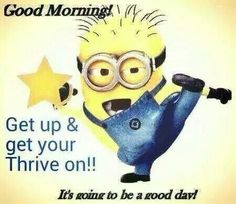 With thrive everyday is a good day. Www.kspindle.le-vel.com