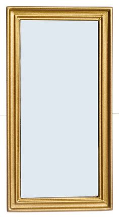 """Dollhouse Miniature Lincoln Wall Mirror in Gold Color 4¼""""T  1:12 Scale  New  #TheLincolnCollection"""