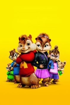 Alvin and the Chipmunks (and the Chipettes)!