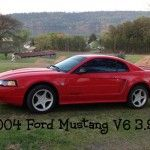 I recently purchased my second Ford Mustang. It is a 2004 Ford Mustang built during the 40th Anniversary Year