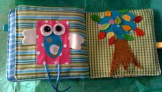 Baby's first fabric book/ baby's quiet/soft book door nenimav