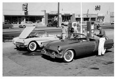 Corvette and Thunderbird