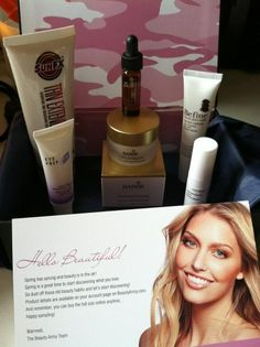 Reporting for duty!!  Kit #3 from @StephsBeautyYT - She knows how to choose #luxury #beauty #samples www.BeautyArmy.com