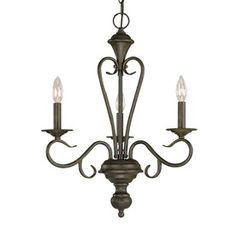 Millennium Lighting Devonshire 3-Light Burnished Gold Chandelier Item #: 409771 |  Model #: 513-BG   Be the first to write a review! $95.90