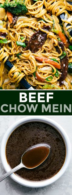 chow mein with flavorful pieces of beef, plenty of veggies, and an addictive savory sauce coating it all. Today I'm sharing all my tips and tricks for how to make beef chow mein BETTER than takeout! Healthy Sweet Snacks, Nutritious Snacks, Healthy Eating, Healthy Chinese Recipes, Asian Recipes, Healthy Recipes, Chow Mein Sauce Recipe, Best Beef Chow Mein Recipe, Chinese Sauce Recipe