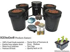 5 Gallon 4 Site Circulating Hydroponic DWC BUCKET Bubbler System JM545744565467341193052 >>> Want additional info? Click on the image.