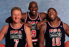 Larry Bird X Michael Jordan X Magic Jonhson