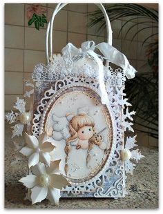 Cards by Barbara: Christmas at Fashionista Challenge