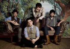 My most favorite band, Mumford and Sons, in an amazing photo. I can not get enough of this or them....