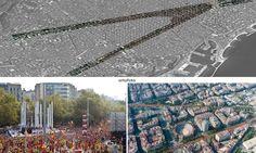 L'espectacular fotografia a vista d'ocell de la V del #11S2014 - directe.cat, 6 DE NOVEMBRE DE 2014. La campanya ARA ÉS L'HORA ha presentat aquest dijous l'Ortofoto de la Via Catalana 2014, una immensa fotografia que permet visualitzar completament l'espectacular construcció sobre la Diagonal i la Gran Via de Barcelona del gran mosaic senyera que van formar els catalans la passada Diada. L'ortofoto permet aproximar-se i veure a vista d'ocell els més d'onze quilòmetres que van conformar la…
