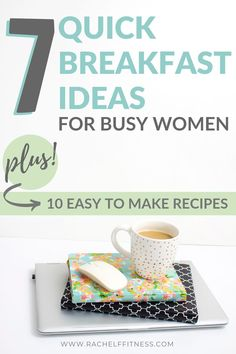 Many busy women make the common mistake of skipping breakfast. Explore how this habit can affect your weight and grab some easy breakfast ideas and recipes. Great Breakfast Ideas, Healthy Breakfast Options, Quick And Easy Breakfast, Healthy Eating Tips, Healthy Snacks, Clean Eating, Healthy Recipes, Fitness Tips For Women, Health And Fitness Tips