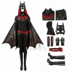 Item Number:tvbam002, Shop for Batwoman Costume Batwoman Cosplay Kate Kane Christmas Full Set from Cosercos.com. Enjoy great discount!