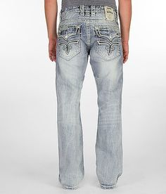 $158 Rock Revival Chad Boot Jean
