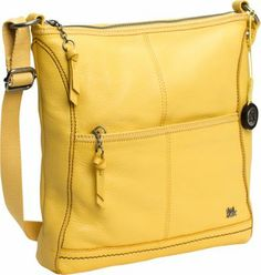 "This functional cross-body bag features: top-zip closure adjustable cross-body strap zippered front pocket slit back pocket cotton lining zippered and slip inside pockets Of leather/polyurethane. 11x1.5x11.25"". Strap drop length: 13.5-22.5""."