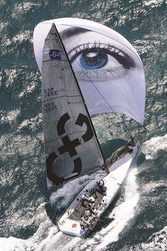 TP52 Caixa Galicia (sailing with Alpha Ropes)