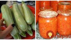 Neprekonateľná cuketová zmes na obložené chlebíčky a hrianky: Stačí otvoriť pohár a máte výborné pohostenie aj uprostred zimy! Pickles, Cucumber, Zucchini, Stuffed Peppers, Vegetables, Recipes, Food, Syrup, Stuffed Pepper