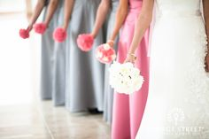 #DREAM WEDDING - love this idea to make the MOH stand out - notice the slightly different bouquet too! maid of honor in a different color dress | www.georgestreetphoto.com