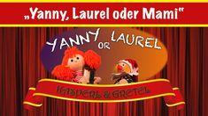"""Yanny, Laurel oder Mami? Entdecke gemeinsam mit Gretel und Kasperl das """"Yanny oder Laurel"""" Mysterium. Viel Spaß!!! Cordial, Adventure, Funny"""