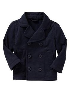 knit peacoat. everyone needs one, even your infant.