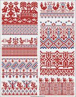 Grand Sewing Embroidery Designs At Home Ideas. Beauteous Finished Sewing Embroidery Designs At Home Ideas. Beaded Cross Stitch, Cross Stitch Borders, Cross Stitch Charts, Cross Stitching, Cross Stitch Patterns, Russian Embroidery, Folk Embroidery, Cross Stitch Embroidery, Embroidery Patterns