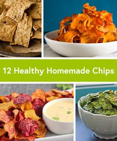 12 Recipes for Healthy Homemade Chips from DailyBurn.com