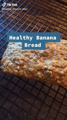 This super easy healthy banana bread recipe i found on tik tok is AMAZING