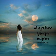 When you believe signs appear everywhere. Message Quotes, Rumi Quotes, Spiritual Quotes, Believe Sign, When You Believe, Love Failure Quotes, Life Quotes Love, Universe Love, Universe Quotes