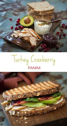 Turkey Cranberry Panini— Spice up your lunch with the flavors of the season! This simple, protein-packed Panini is sure to be a staple everyone will love.