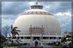 Deekshabhoomi is in Nagpur, Maharashtra, a location regarded as a pilgrimage center of Buddhism in India. Millions of pilgrims visit Deekshabhoomi every year, especially on 'Dhamma Chakra Pravartan Din' (Mass Conversion Ceremony Day) and 14 October, the memorial day when Dr. Ambedkar converted to Buddhism here. Ambedkar's final religious act was to embrace Buddhism. Now, the biggest stupa in Asia is erected in his memory at the place.